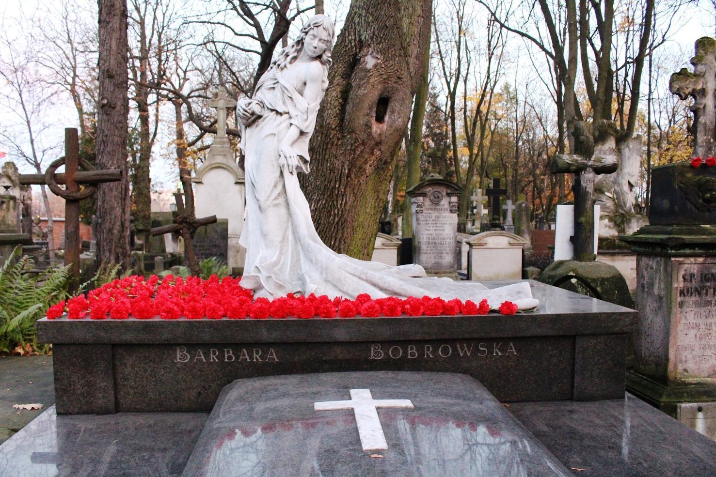 cimitero monumentale Powązki Barbara Bobrowska