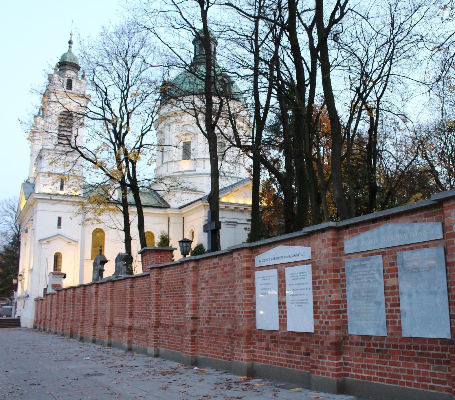 Chiesa cimitero monumentale Powązki