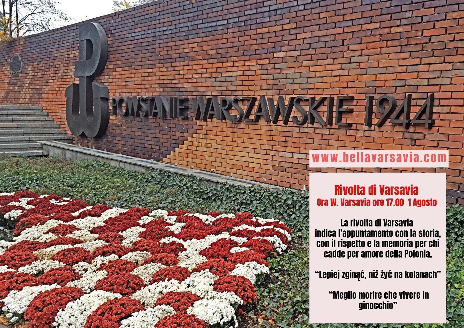 Varsavia 1 agosto rivolta insurrezione