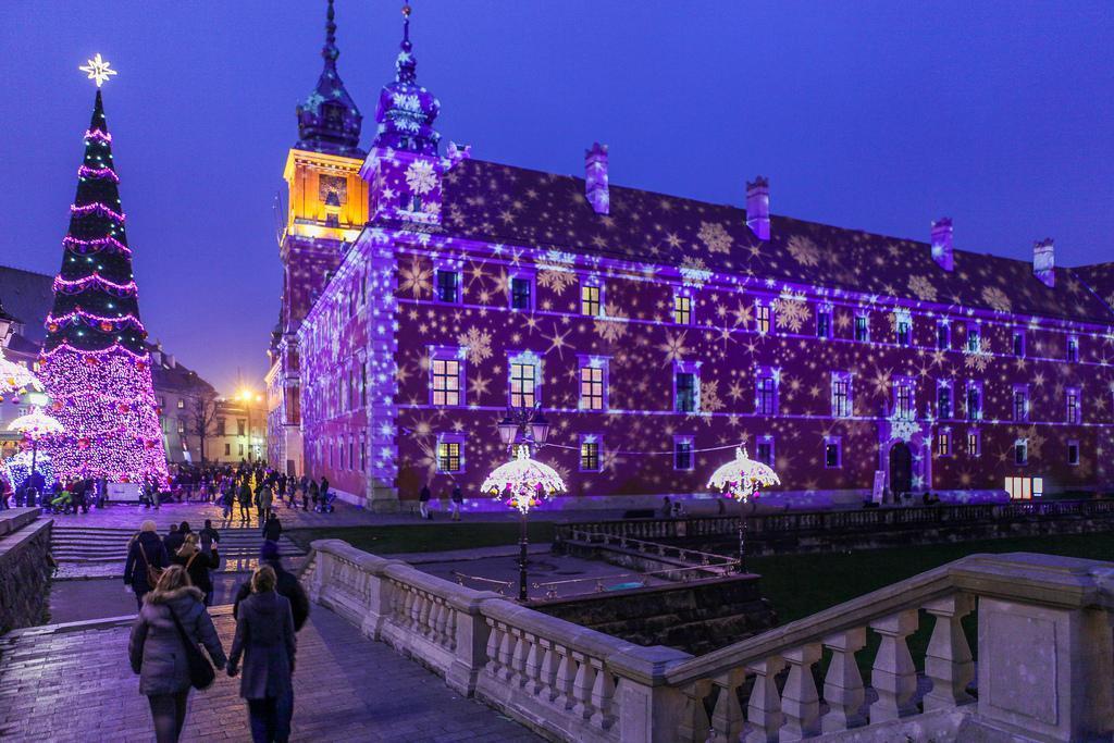 Albero di Natale Varsavia Castello Reale
