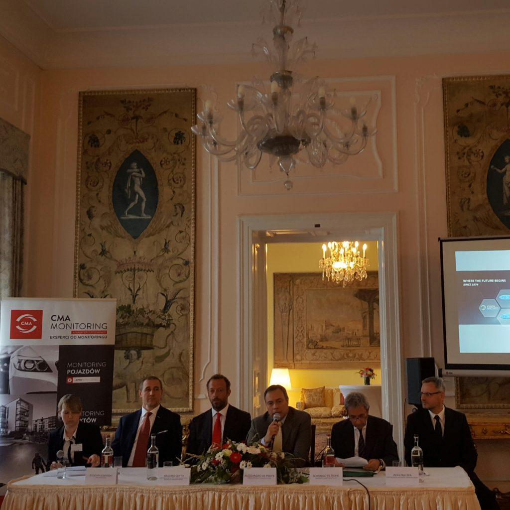 Presentazione Viasat a Varsavia