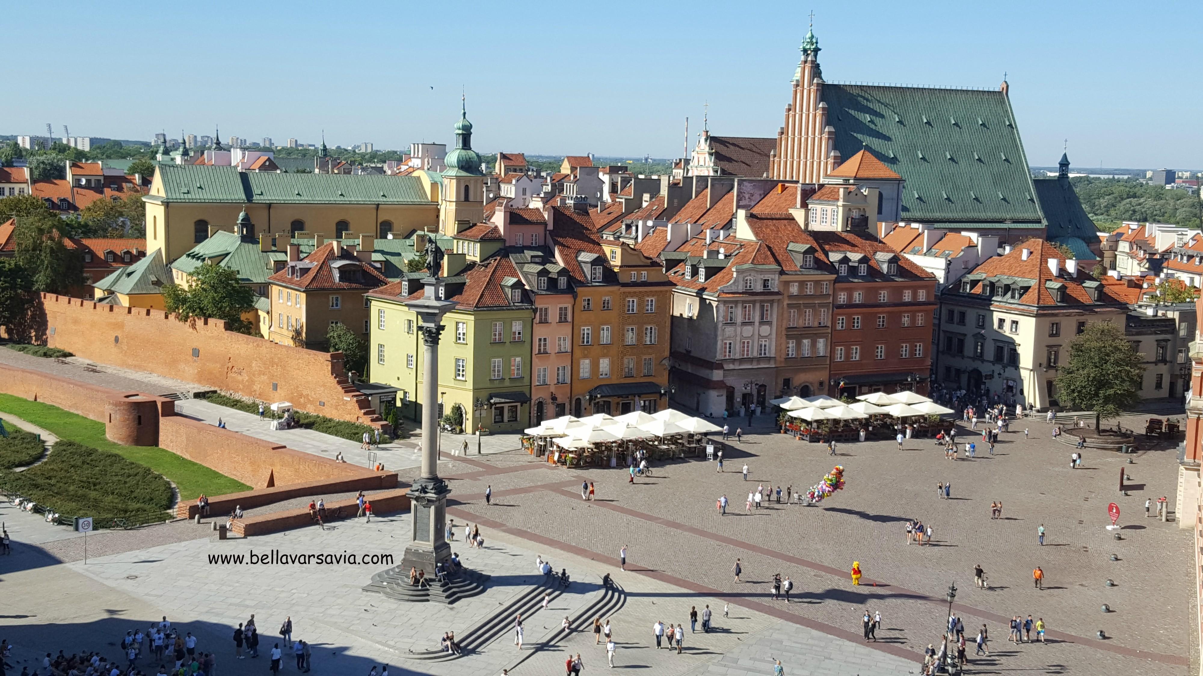 Le domande per vivere a Varsavia