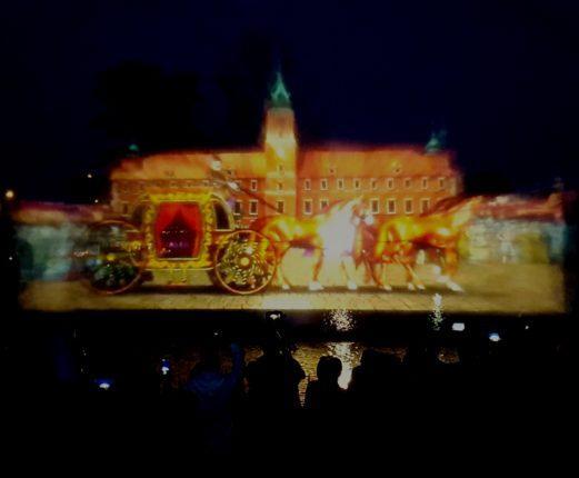 fontana multimediale di Varsavia