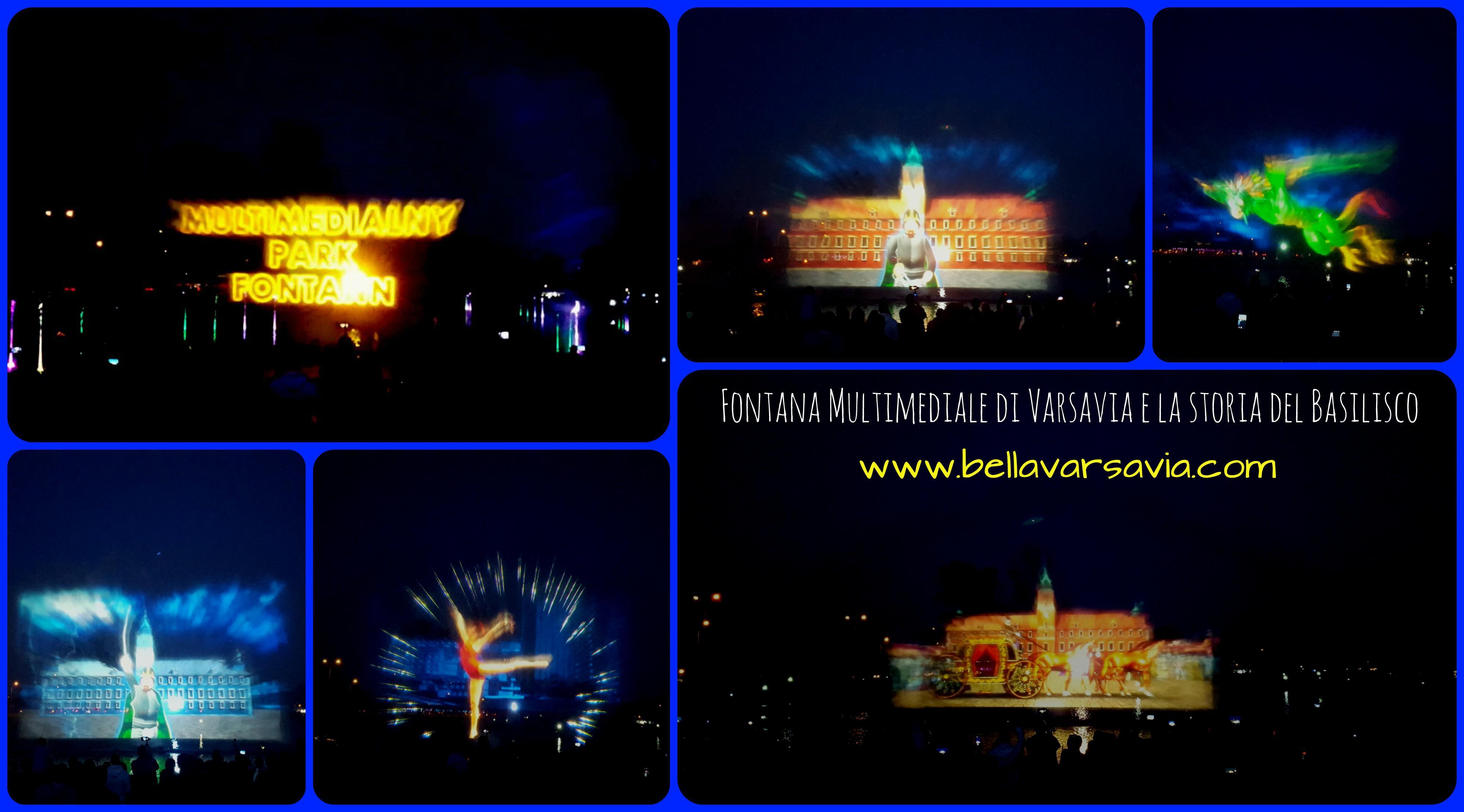 Fontana Multimediale Varsavia - Multimedialnym Parku Fontann