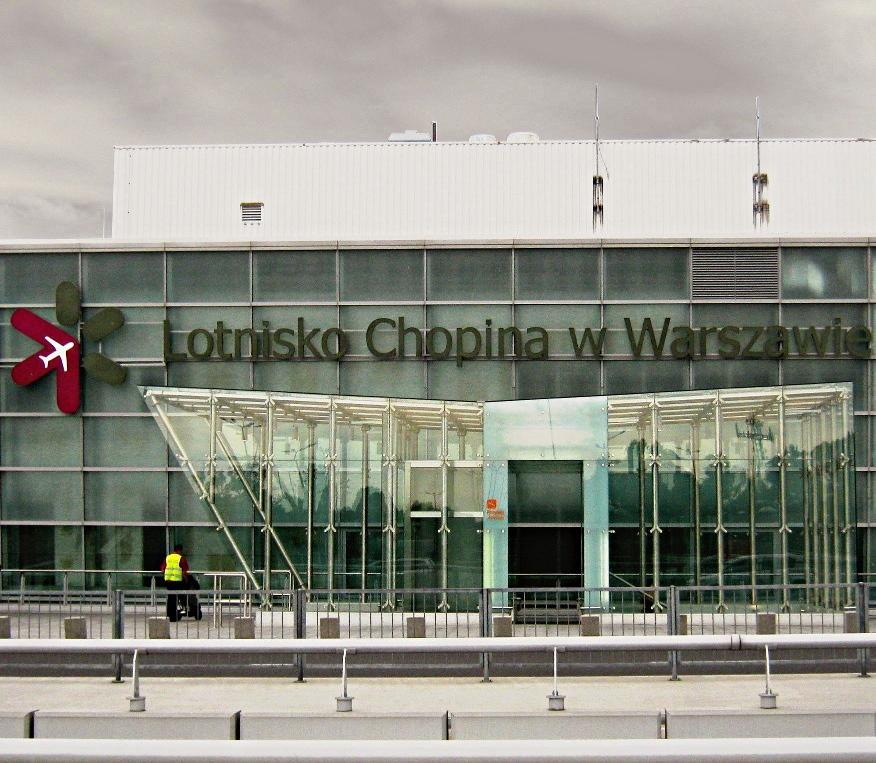 arrivare a Varsavia dall'aeroporto Chopin