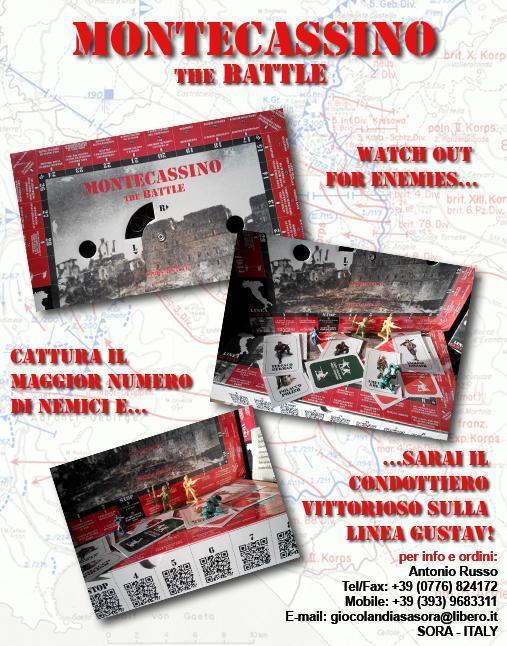 battaglia montecassino cartolina