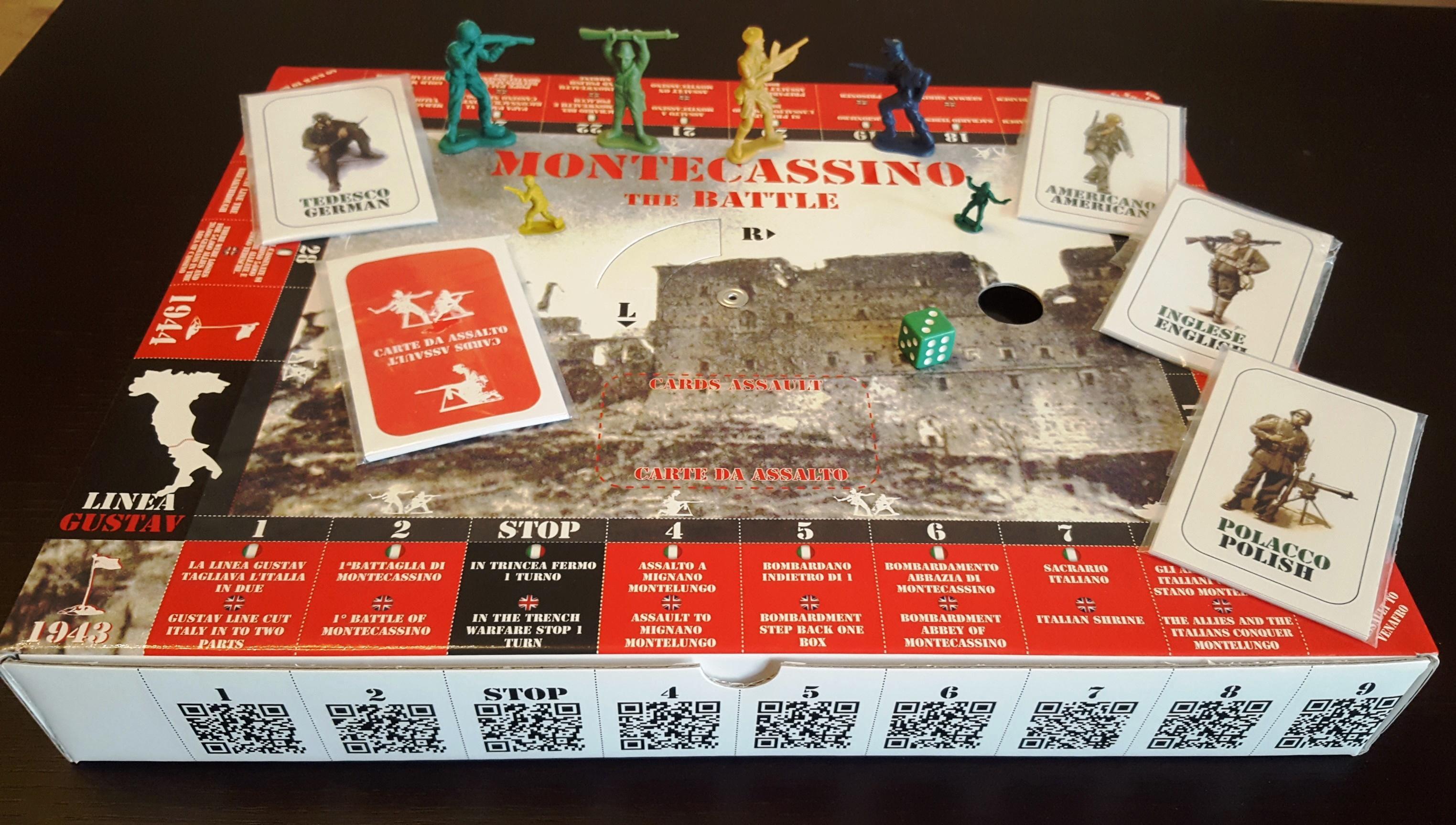 battaglia montecassino gioco tavolo