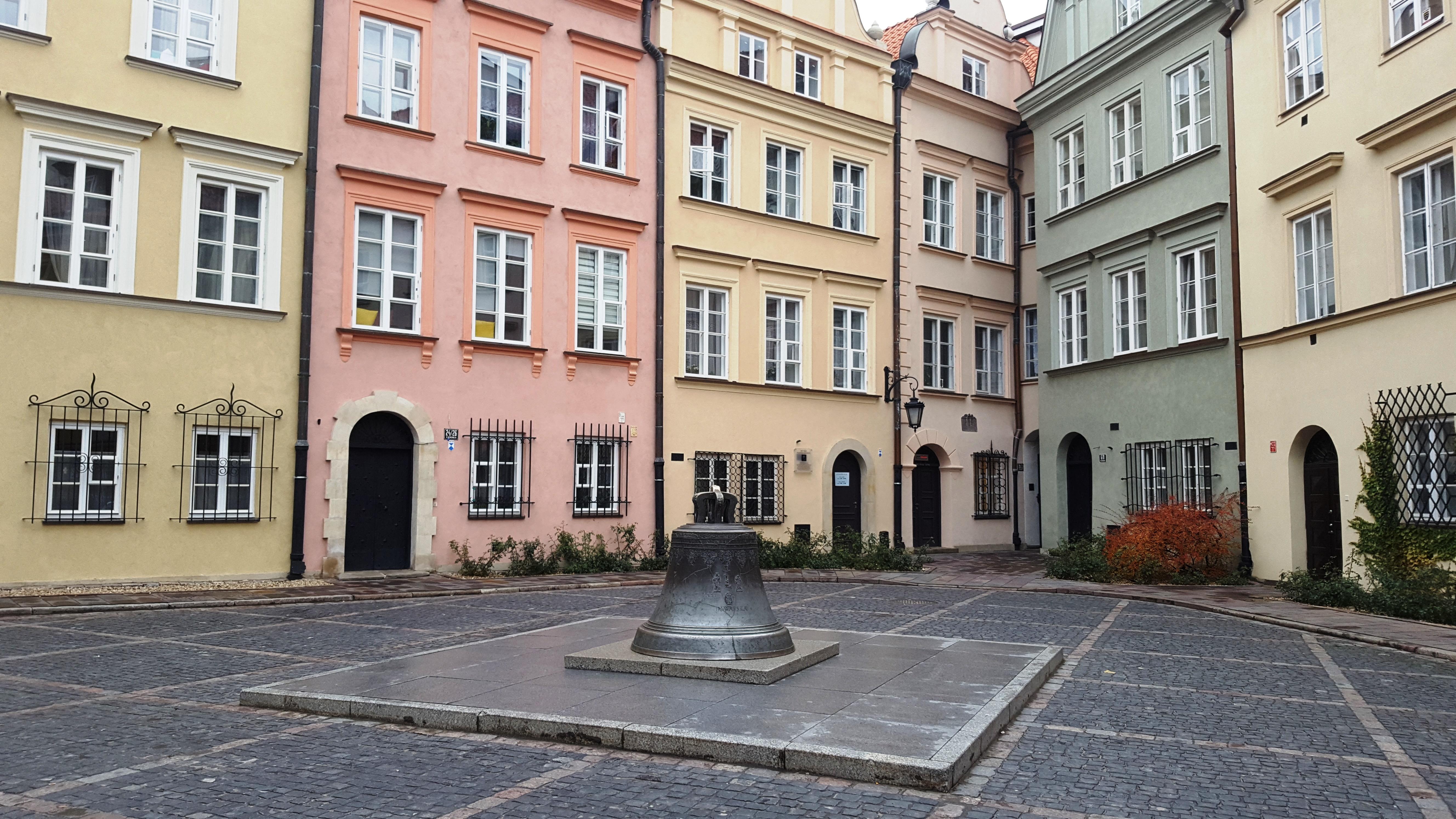 La città vecchia di Varsavia
