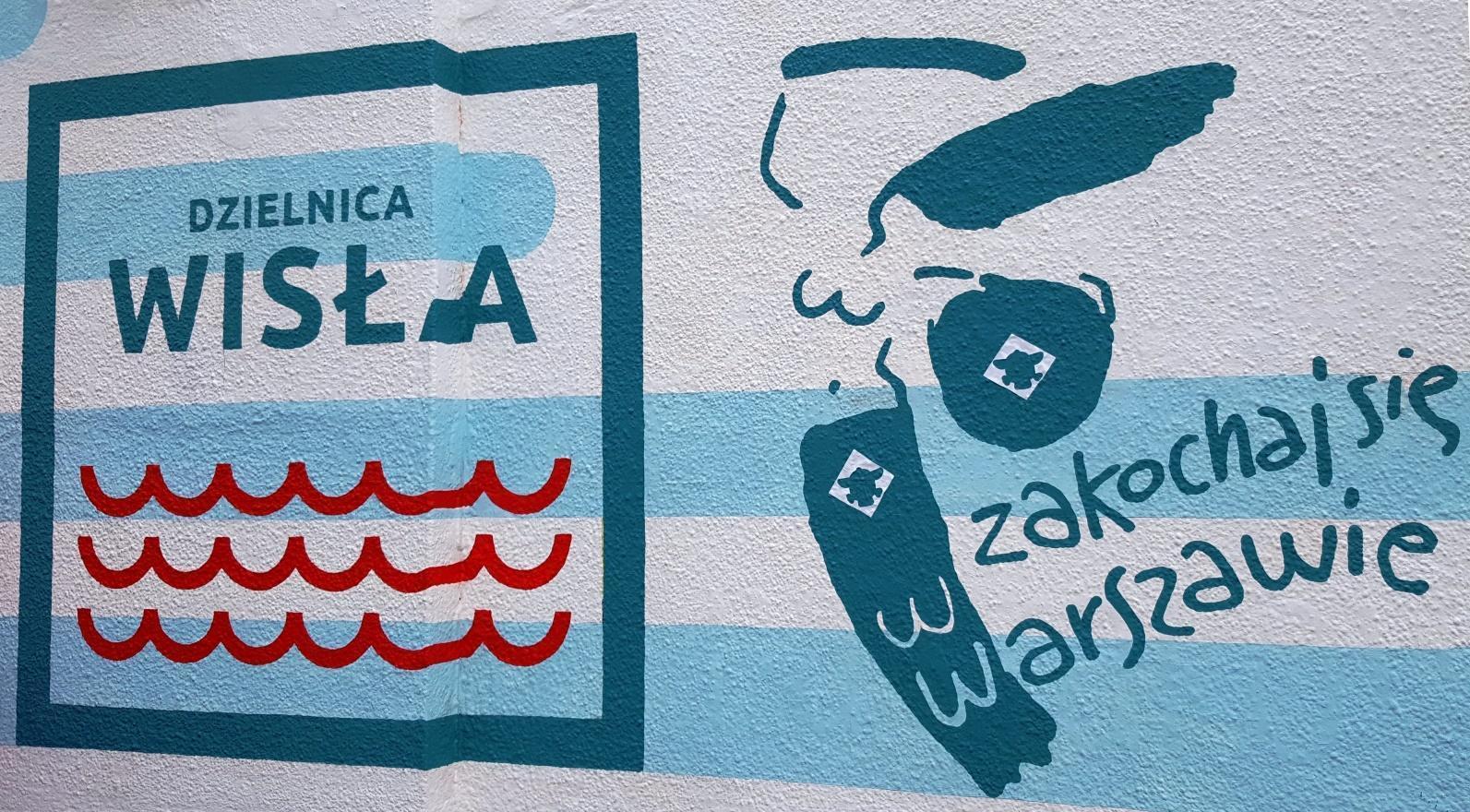 Murale della sirena di Varsavia