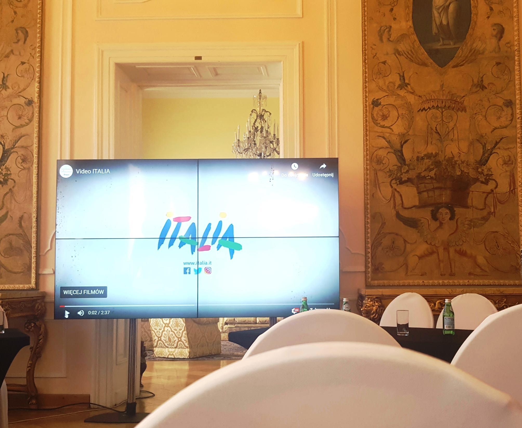Italia in un video