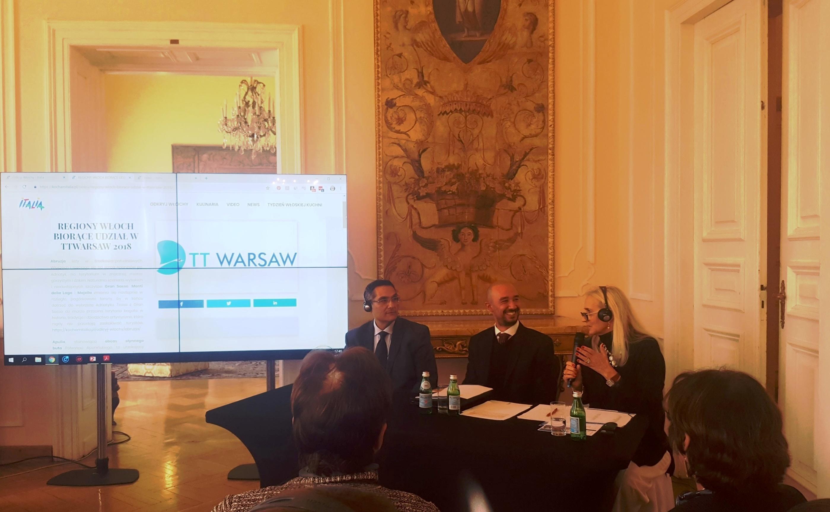 Fiera Internazionale del Turismo a Varsavia