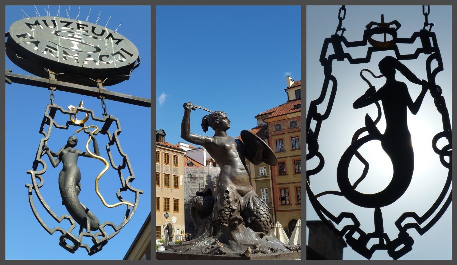 La sirena di Varsavia è il simbolo della città