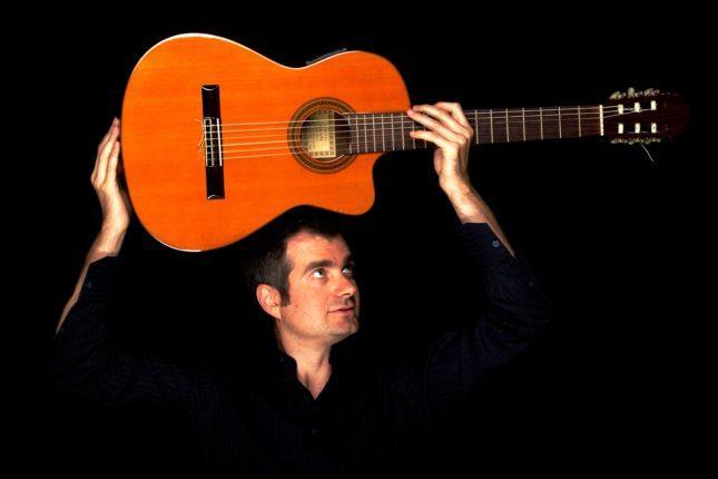musicisti italiani in Polonia chitarra Roberto Ruggeri