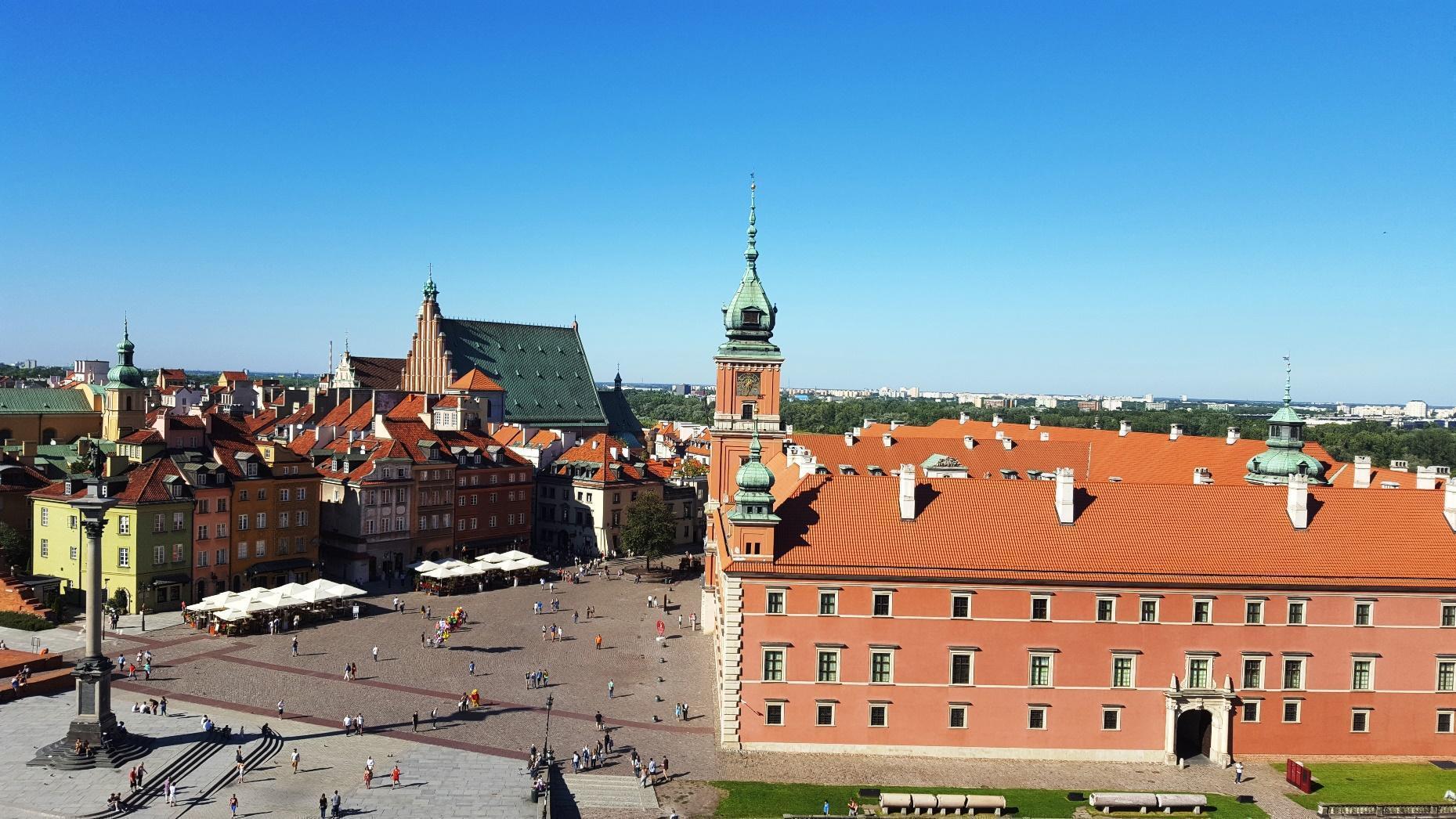 in quanti giorni si visita Varsavia e il centro storico