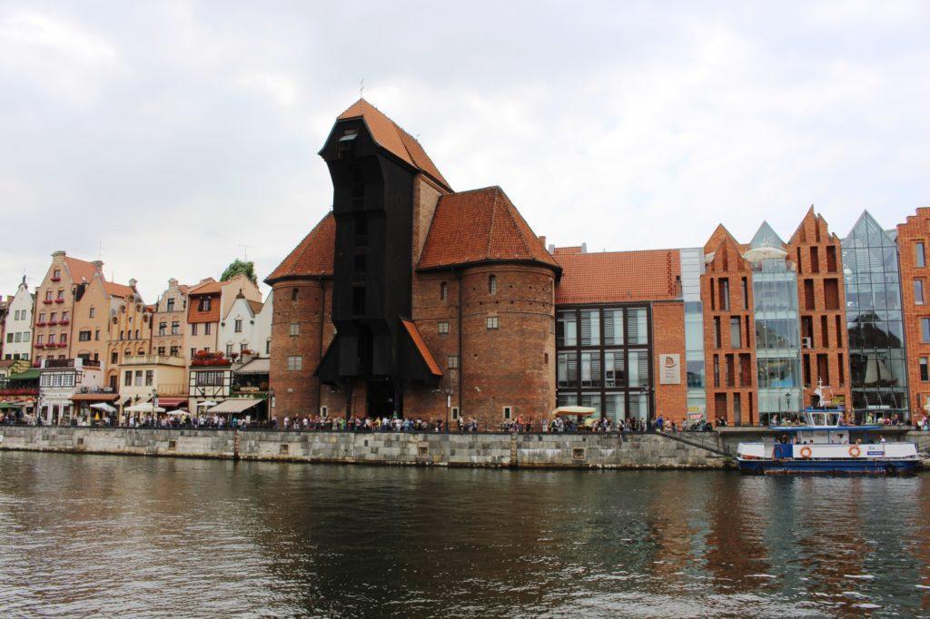 La gru medievale di Danzica