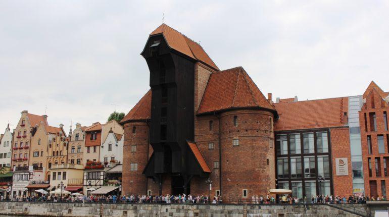La gru medievale di Danzica copertina