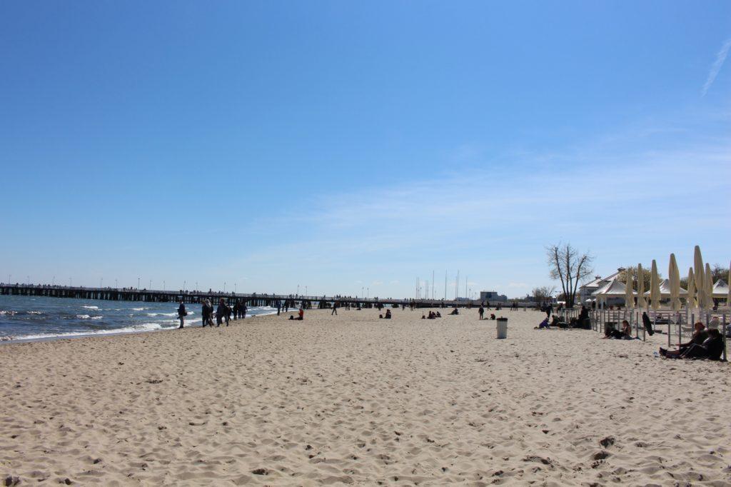 sopot molo spiaggia