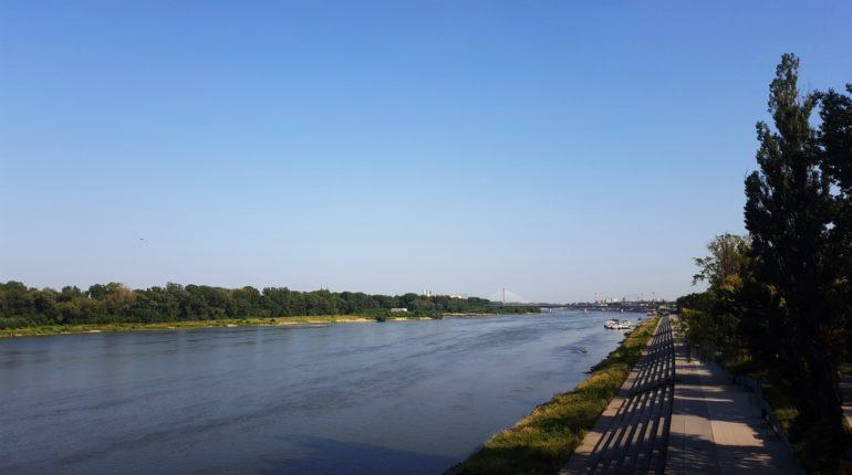 attività da fare sul fiume Vistola panorama