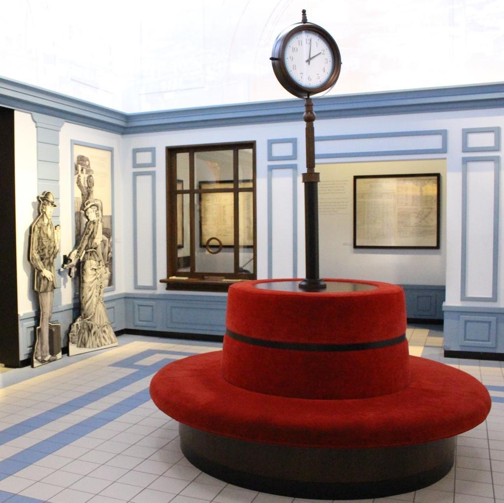 Museo della storia degli ebrei polacchi orologio