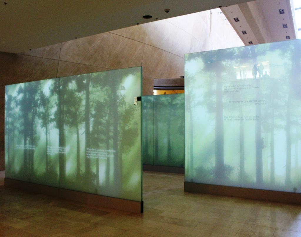 Museo della storia degli ebrei polacchi pannelli