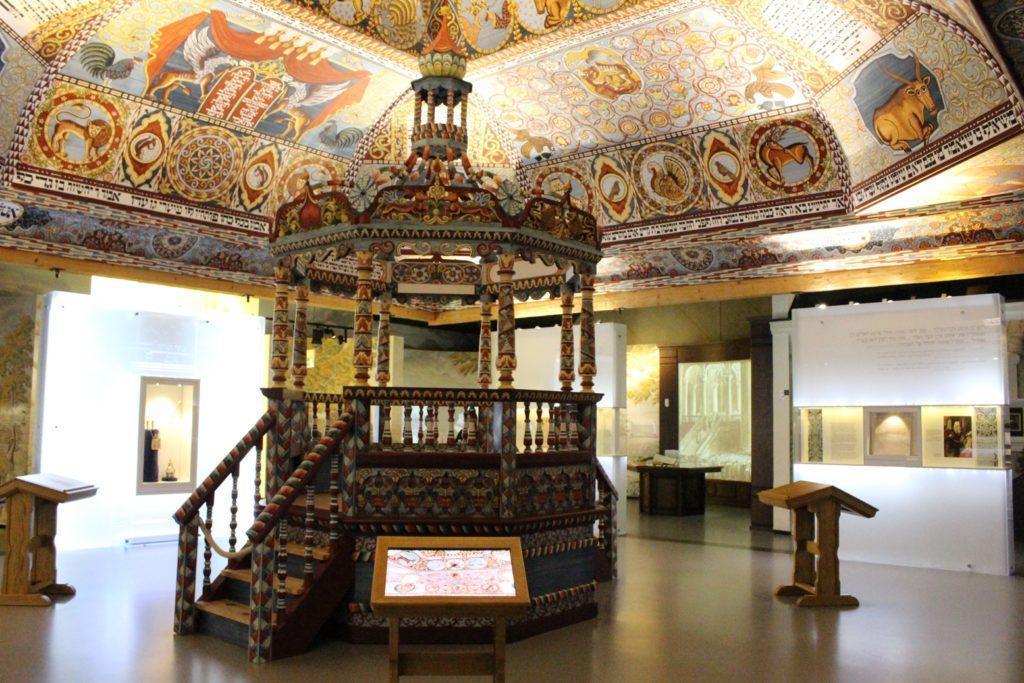 Museo della storia degli ebrei polacchi stanza