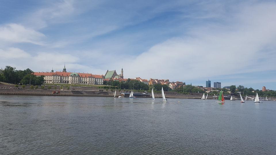 barca a vela a Varsavia