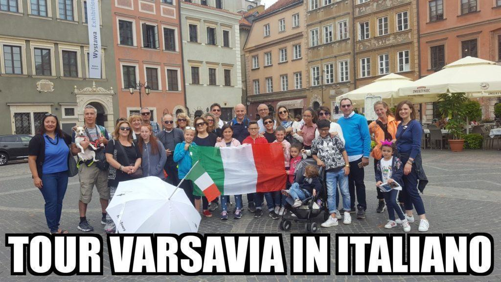 free tour varsavia in italiano