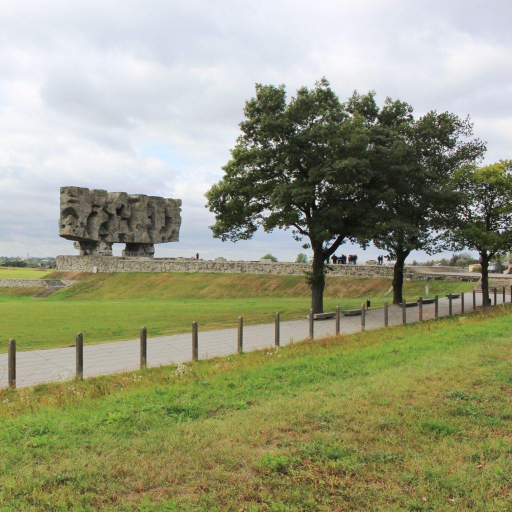 porta ingresso Campo di concentramento di Majdanek