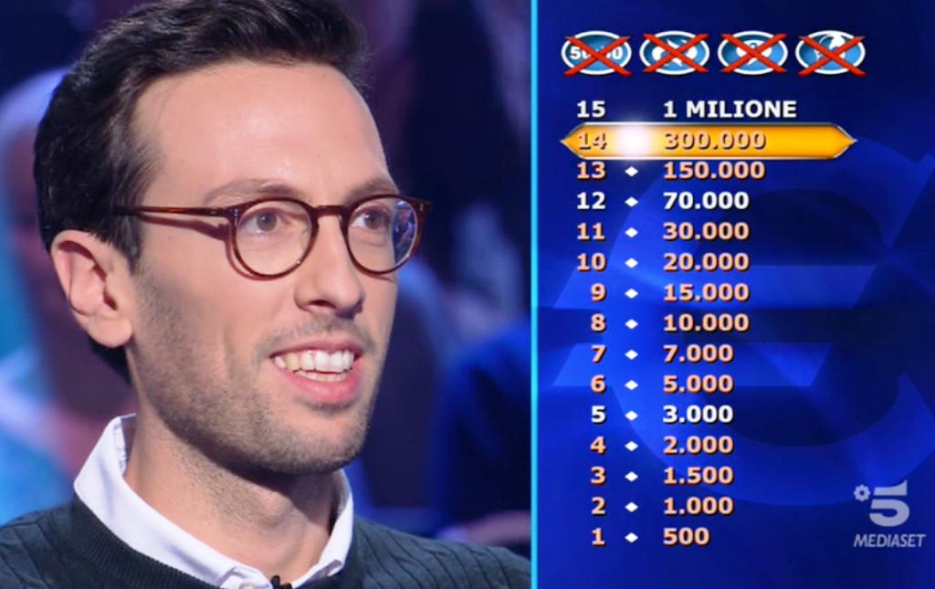 Enrico Remigio tenta la scalata al milione