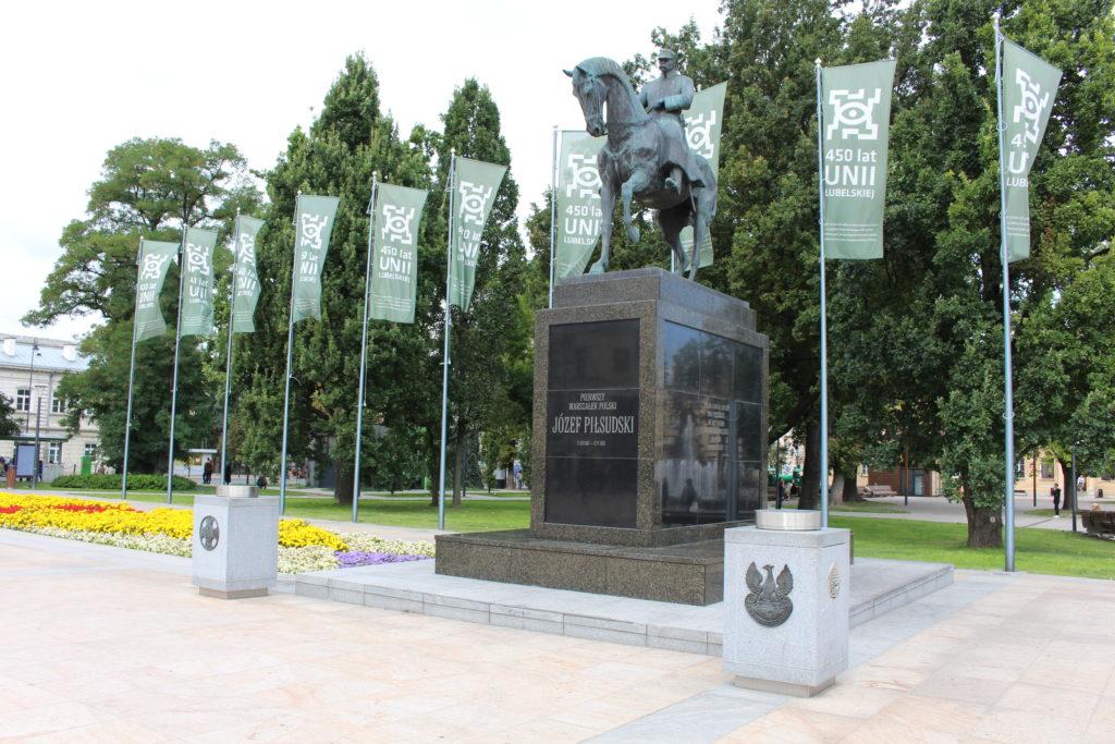 Józef Piłsudski monumento Lublino