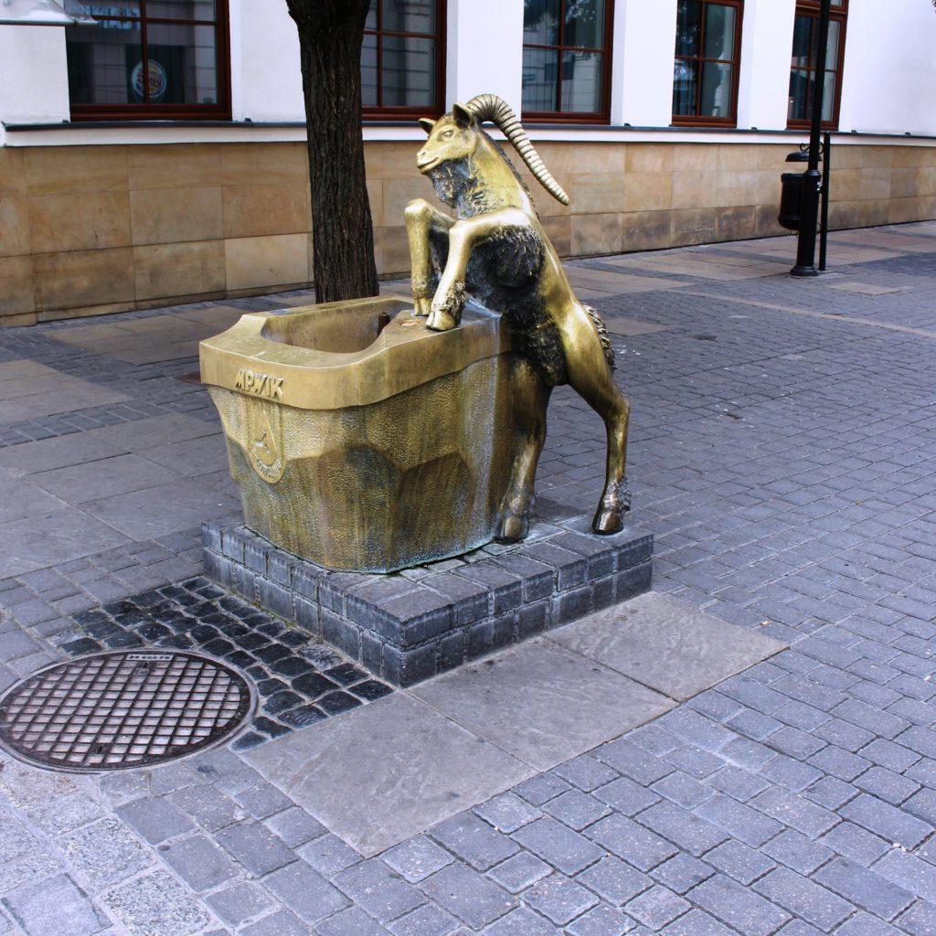 capra simbolo di Lublino