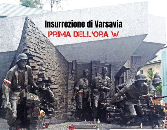 Insurrezione di Varsavia prima dell'ora W