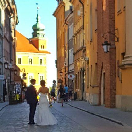 Le chiese del centro storico di Varsavia matrimonio