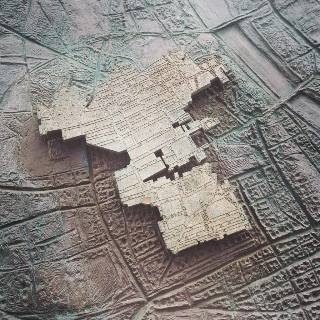 Mappa del ghetto di Varsavia