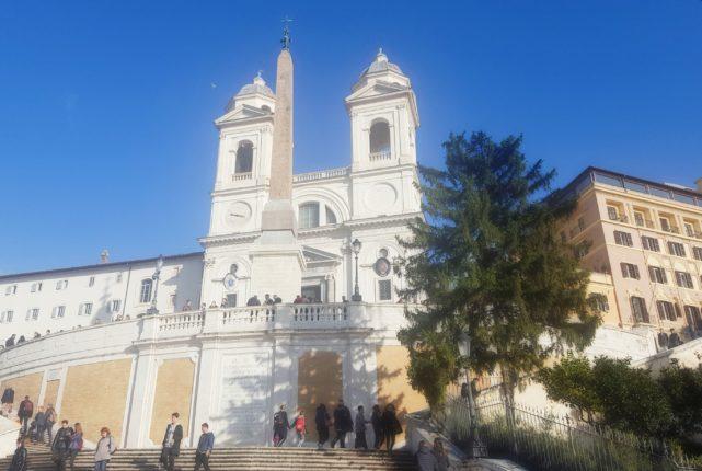 le bellezze di Roma Trinità dei Monti