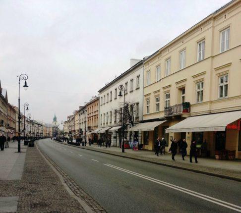 la via reale di Varsavia
